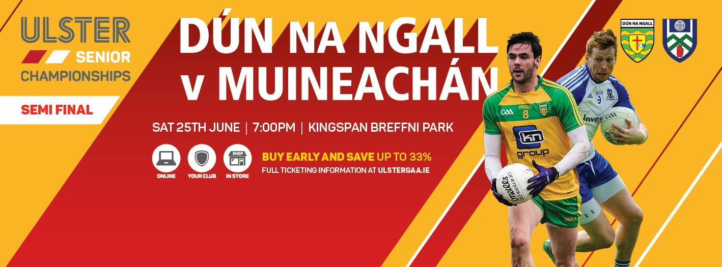 Ulster SFC Donegal v Monaghan: Traffic Info