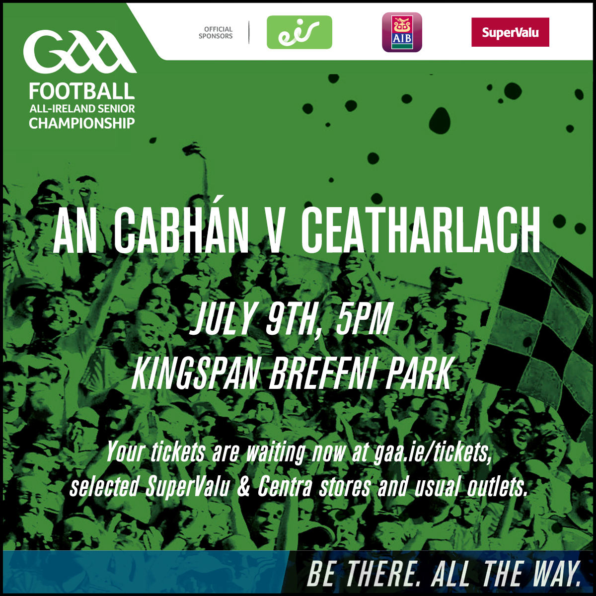 Ticket Info for Qualifier Rd2A v Carlow