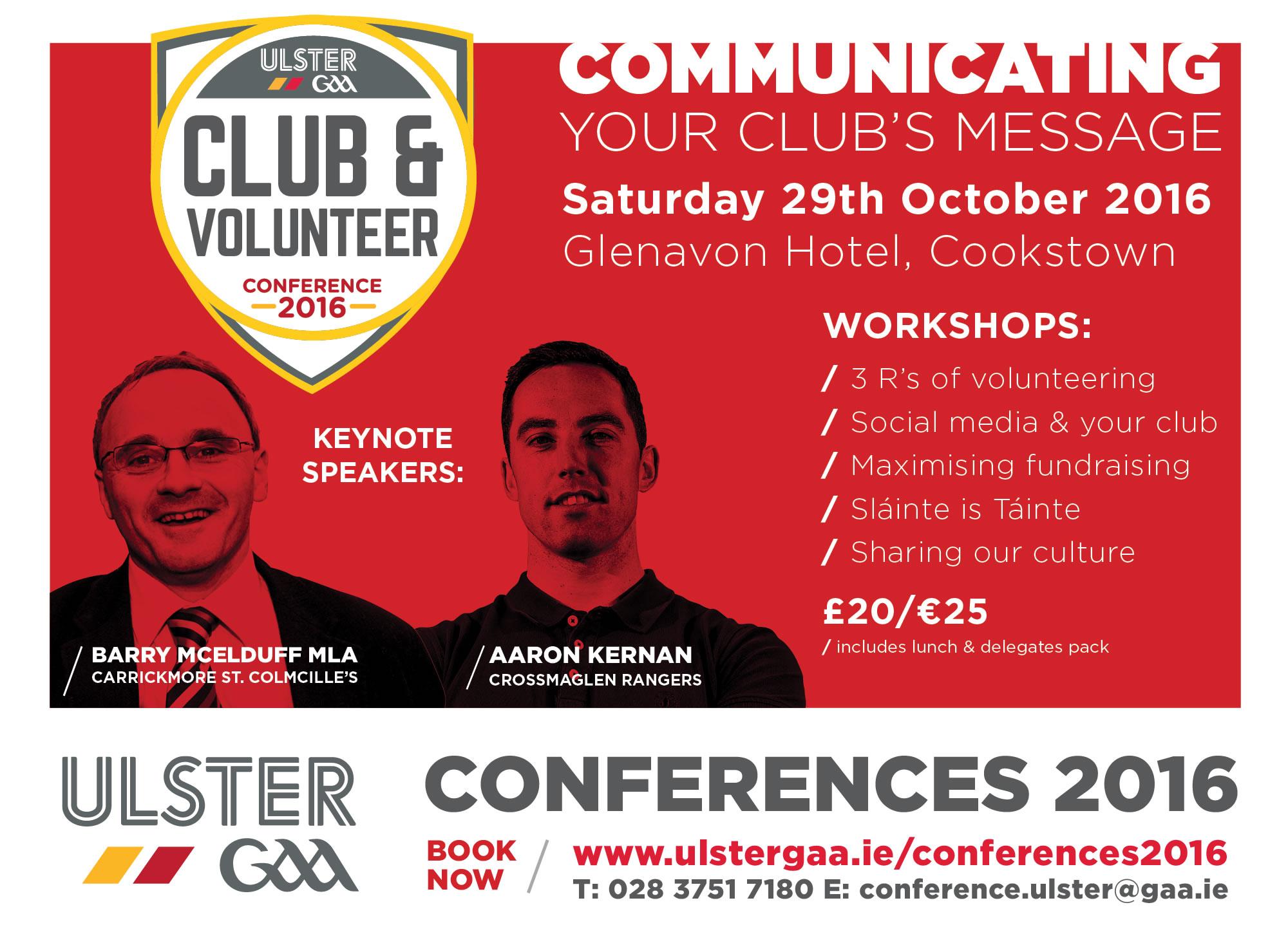 Ulster GAA Club & Volunteer Conference