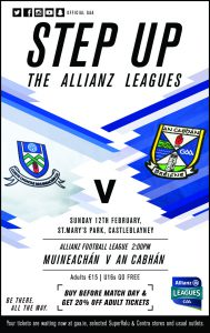 Traffic & Ticket info for Sunday v Monaghan