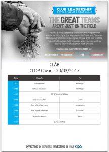 Club Leadership Development Programme
