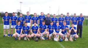 Return of Senior Hurling Team
