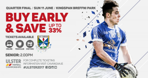 Ulster Senior Football Championship – Parking & Ticket Information