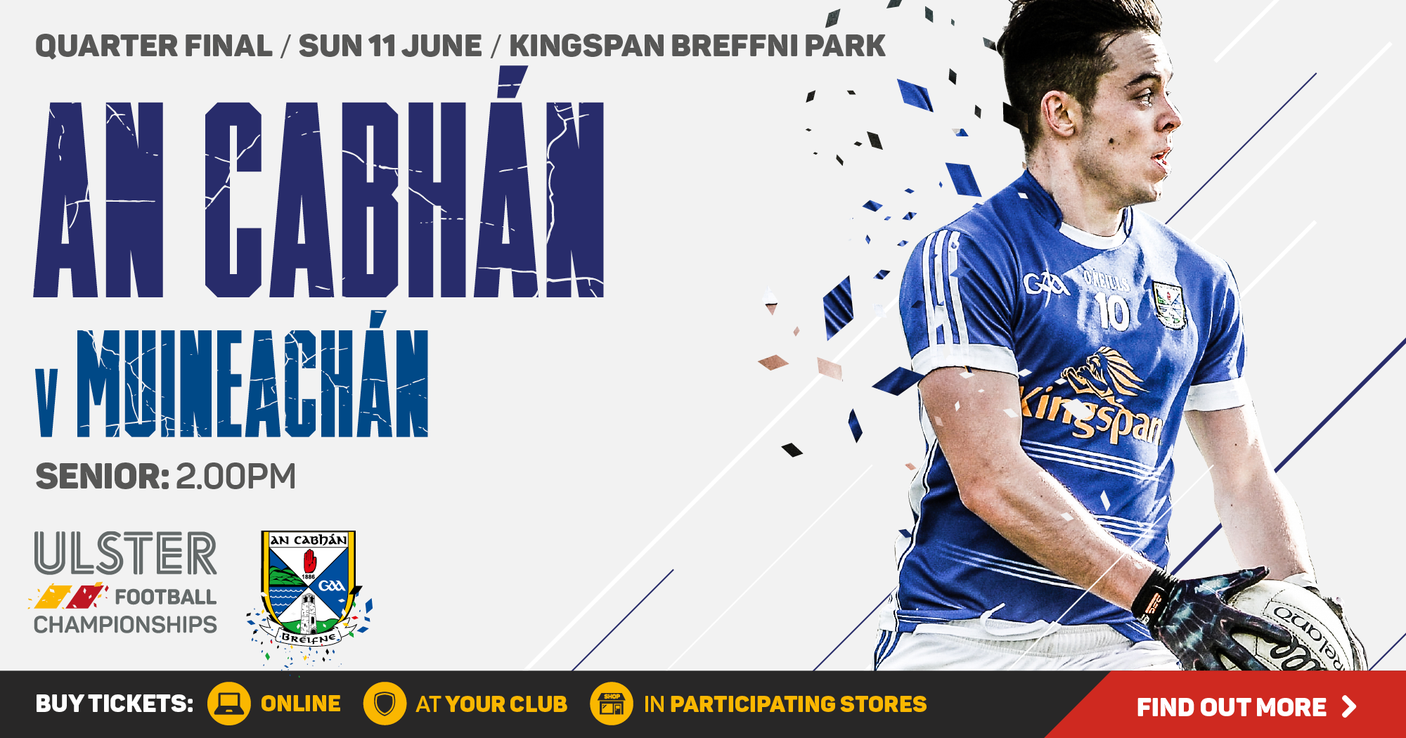 Ulster Football Championship 2017 - Quarter Final - Monaghan v Cavan