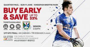 Cavan Team to play Monaghan
