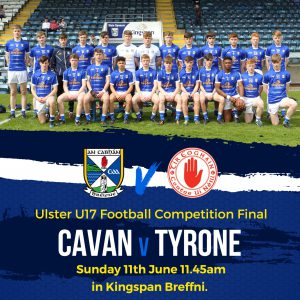 U17 Team to play Tyrone