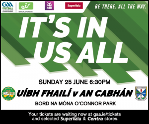 Senior team to play Offaly