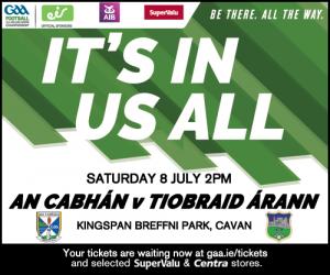 Cavan Panel to play Tipperary