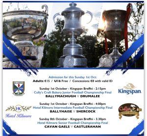 Senior Football Championship Final – Ticket Information