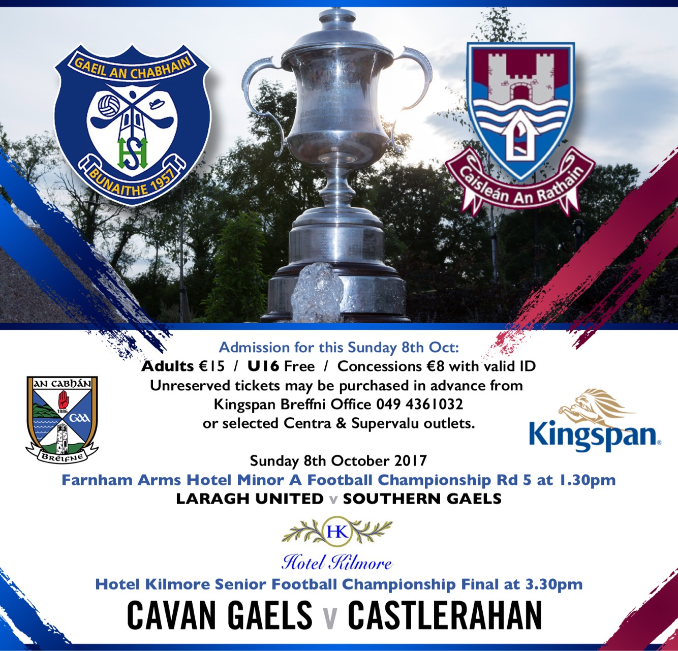 Senior Football Championship Final – Ticket Information