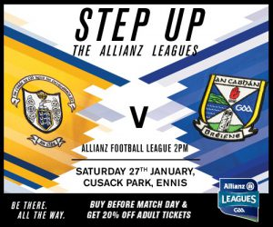 Allianz Football League – Ticket Info