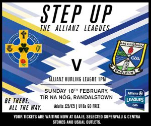 Ticket Info for this weekends Allianz League Games