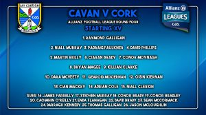 Senior Football Team to Play Cork