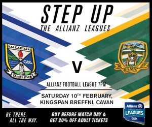 Allianz Football Lge Cavan v Meath: Ticket Info