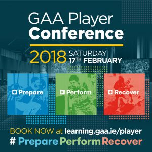GAA Player Conference on 18th February