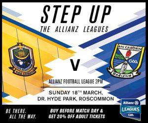 Allianz Football League Rd 6 – Ticket Info
