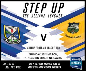Ticket Info: Allianz Football League v Tipperary