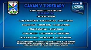Team News: Senior Team to play Tipperary