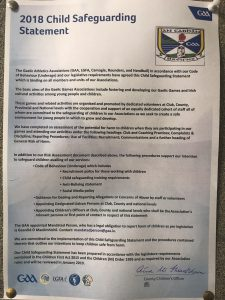 Club Risk Assessment & Safeguarding Statement
