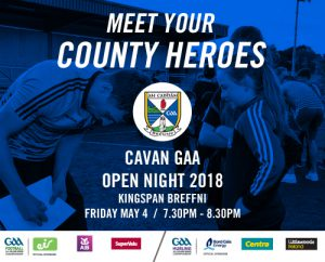 Open Evening – Meet your County Heroes