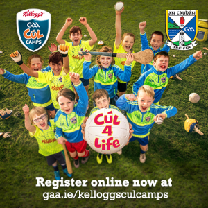 Kelloggs Cúl Camps kick off next week