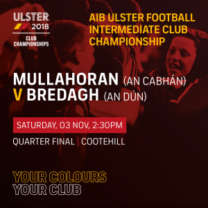 Ulster Club Fixtures – Castlerahan & Mullahoran in action this weekend