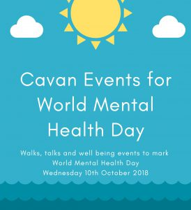 World Mental Health Day – 10th October; events scheduled across Cavan