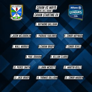 Senior Panel to play Mayo